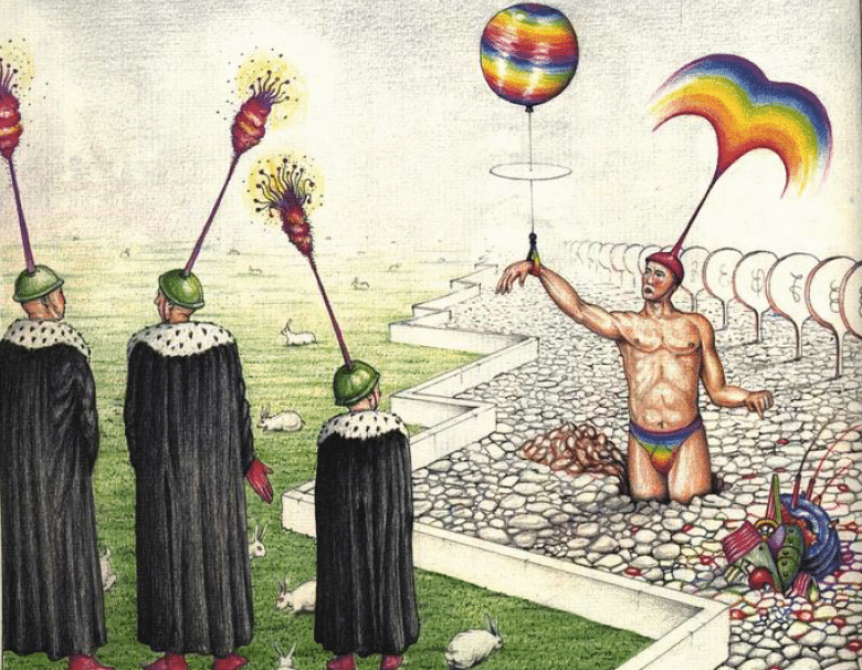 The original Codex Seraphinianus image.